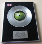 JOHN LENNON / PLASTIC ONO BAND - GIVE PEACE A CHANCE PLATINUM Single Presentation Disc